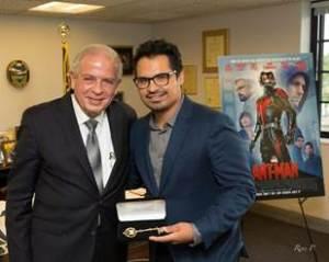 Mayor Tomas Regalado & Michael Peña