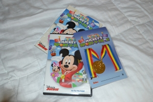 Capa DVD Mickey Mouse Clubhouse