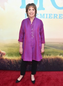 "HOLLYWOOD, CA - JUNE 21:  Actress Penelope Wilton arrives on the red carpet for the US premiere of Disney's ""The BFG,"" directed and produced by Steven Spielberg. A giant sized crowd lined the streets of Hollywood Boulevard to see stars arrive at the El Capitan Theatre. ""The BFG"" opens in U.S. theaters on July 1, 2016, the year that marks the 100th anniversary of Dahl's birth, at the El Capitan Theatre on June 21, 2016 in Hollywood, California.  (Photo by Alberto E. Rodriguez/Getty Images for Disney) *** Local Caption *** Penelope Wilton"