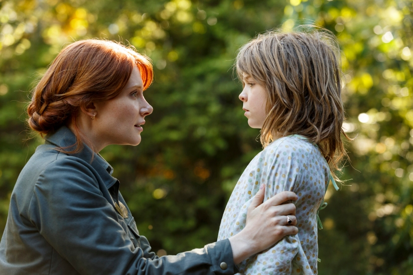 Bryce Dallas Howard is Grace and Oakes Fegley is Pete in Disney's PETE'S DRAGON. ©Disney Enterprises. CR: Matt Klitscher.
