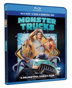 monster truck DVD box