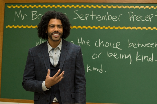 "Daveed Diggs as ""Mr.Browne"" (Photo by Dale Robinette)"