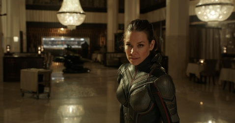 Marvel Studios' ANT-MAN AND THE WASP The Wasp/Hope van Dyne (Evangeline Lilly) Photo: Film Frame ©Marvel Studios 2018