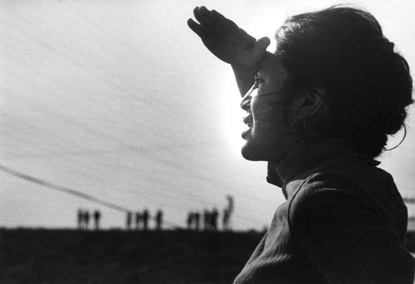 #2 - Dolores Huerta at the Delano Strike in 1966. Photo by Jon Lewis, courtesy of LeRoy Chatfield