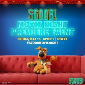 scoob! movie night premiere event